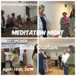 April 18th, Meditation Night