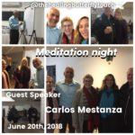 June 20th, Meditation Night