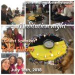 July 18th, Meditation Night