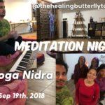 Sept 19th, Yoga Nidra Meditation Night
