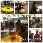 Oct 24th, Meditation Night