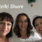 Feb 24th, Reiki Share