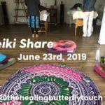 Reiki Share, June 23rd, 2019