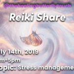 July 14th, Reiki Share