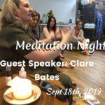 Sep 18th, 2019, Meditation Night