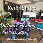 Oct 20th, 2019, Reiki Share