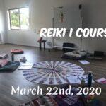 Reiki I Course, Mar 22nd, 2020