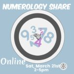 Numerology Share, March 21st, 2020
