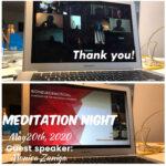 May Meditation Night. May 20th, 2020